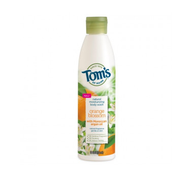 Tom's of Maine Natural Moisturizing Body Wash Orange Blossom