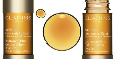 Clarins Radiance-Plus Golden Glow Booster and Sun Care Oil Spray SPF15