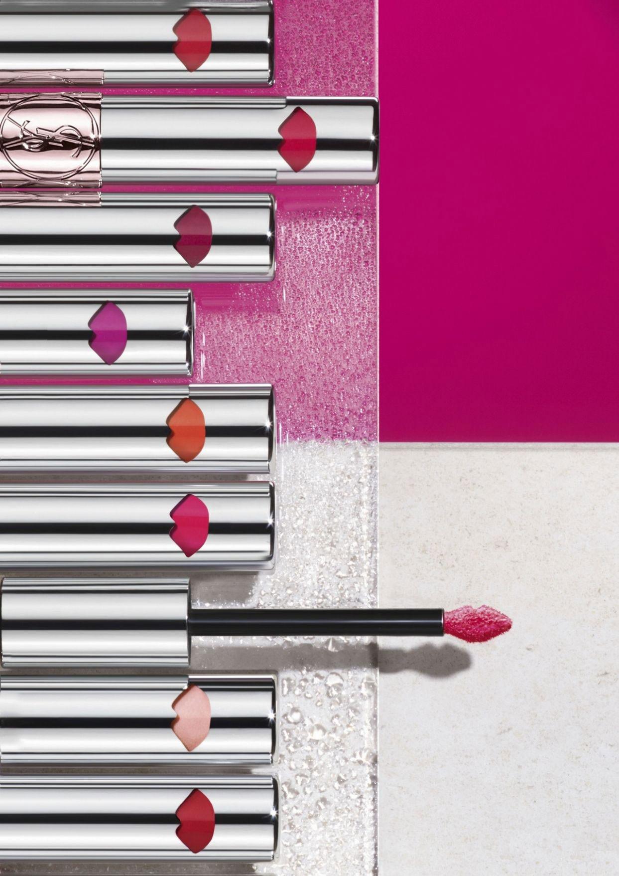 Yves Saint Laurent Volupte Liquid Color Balm  Makeup -6161
