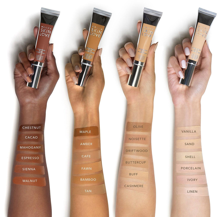 Becca Skin Love Weightless Blur Foundation Makeup