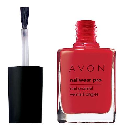 Avon Pink Nail Polish: Avon NAILWEAR PRO Nail Enamel