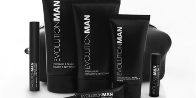 Introducing EVOLUTIONMAN - The NEW Green Skincare Regimen for Men