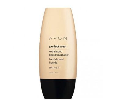 Avon PERFECT WEAR Extralasting Liquid Foundation SPF 15