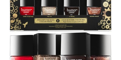 butter LONDON Steampunk Ball Collection