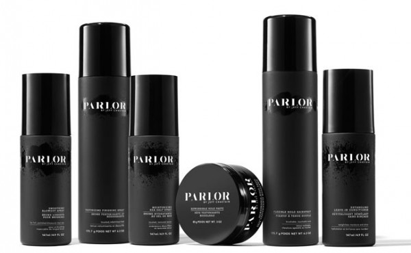 Introducing the Parlor by Jeff Chastain hair care collection