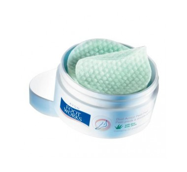 Avon Foot Works Dual-Action Pedi Peel