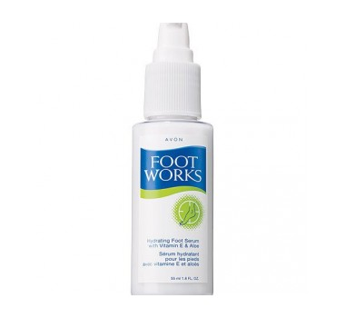 Avon Foot Works Hydrating Foot Serum with Vitamin E & Aloe