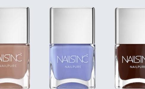 Nails inc. Nailpure Collection