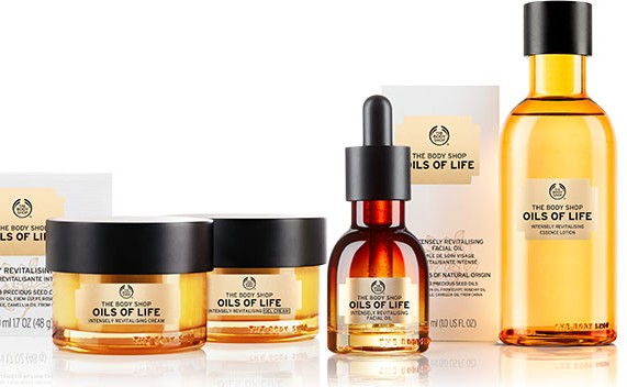 The Body Shop Oils Of Life Collection