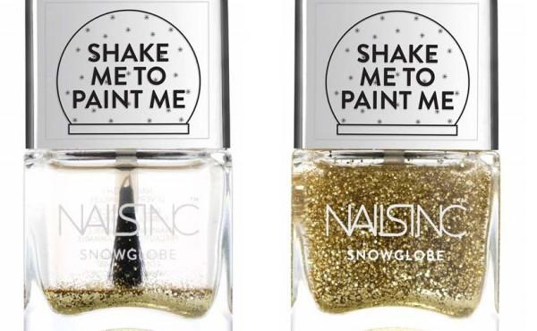 Nails Inc. presents SnowGobe Nail Polish