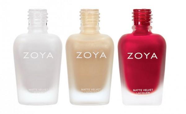 Zoya Matte Velvet Nail Polish Collection 2015