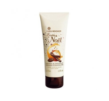 Yves Rocher Orange and Chocolate Moisturizing Hand Cream