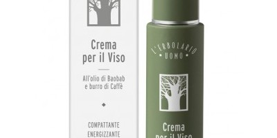 L'Erbolario Face Cream for Men - 100% Made in Italy