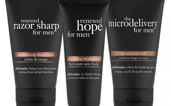 Philosophy introduces grooming range for men