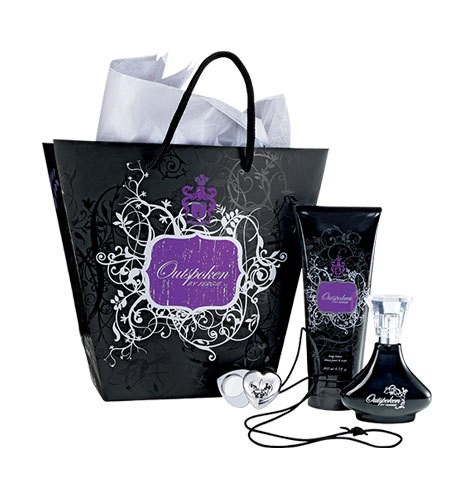 Avon Outspoken By Fergie Fragrance Gift Collection Bath Body