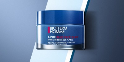 Biotherm Skincare for Men: Biotherm Homme T-Pur Blue Face Clay