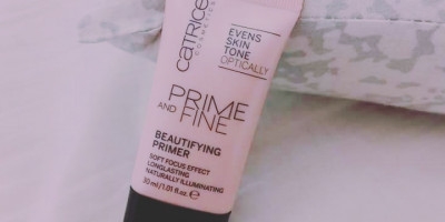 Catrice Prime and Fine Beautifying Primer: Pink Bliss
