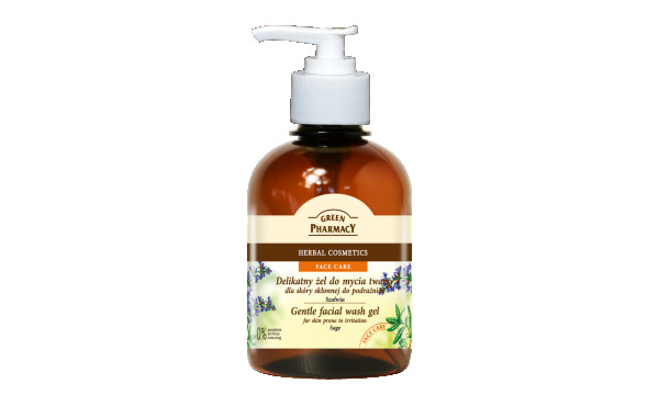 Green Pharmacy Sage Facial Wash Gel - Calm and Clean