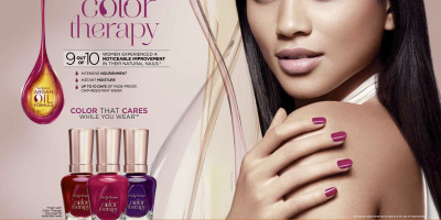 Sally Hansen Color Therapy - The Advanced New Nail Polish That Combines Color And Care