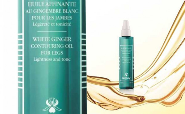 Sisley to launch White Ginger Contouring Oil for Legs
