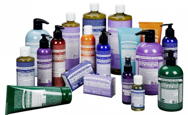 New From Dr. Bronner's: Organic Lavender Hand Sanitizer