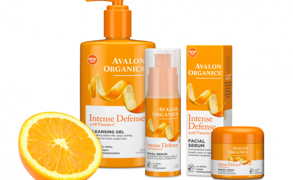 Avalon Organics Introduces Intense Defense Toner & Moisturizer with Vitamin C
