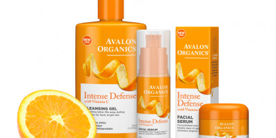 Avalon Organics Introduces Intense Defense Toner & Moisturizer with Vitamin C