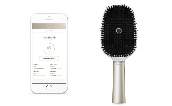 Kerastase introduces the world's first smart hairbrush!