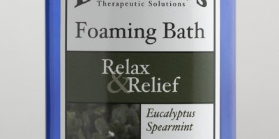 Relax Your Muscles With Dr. Teal's® Foaming Bath