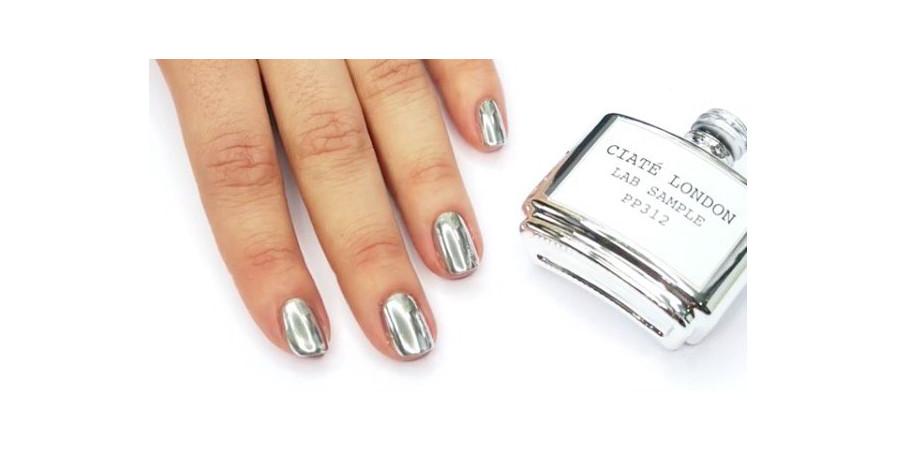 Ciate London Liquid Mirror Chrome Nail Polish News Beautyalmanac