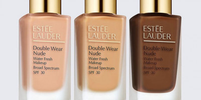 Estée Lauder is launching Double Wear Nude Water Fresh Foundation
