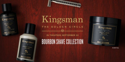 Art of Shaving Kingsman: The Golden Circle Bourbon Shave Collection