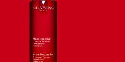 Clarins Super Restorative Treatment Essence and Sheet Masks