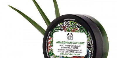 The Body Shop Amazonia Saviour Review - Your Tattoo Looking Good As New!