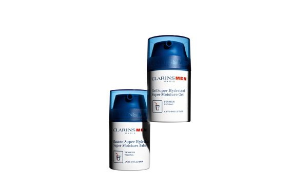 CLARINS new products for men: Super Moisture Gel and Super Moisture Balm