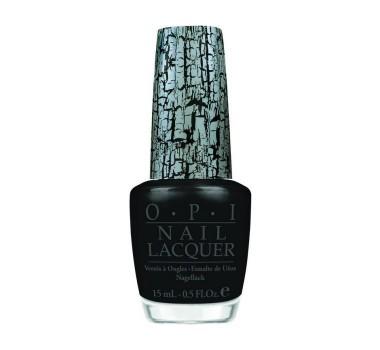 OPI Black Shatter Coat