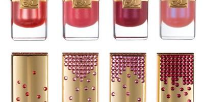 EXCLUSIVE: Estee Lauder Swarowski Crystal Lipsticks