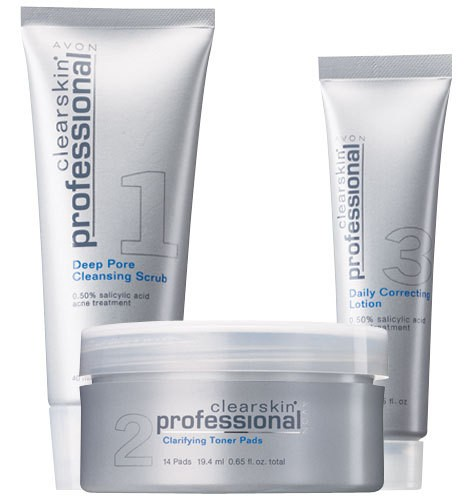 avon clearskin professional how to use
