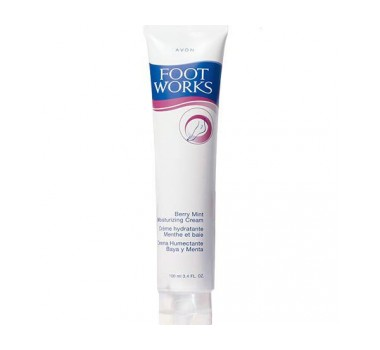 Avon Foot Works Berry Mint Moisturizing Cream