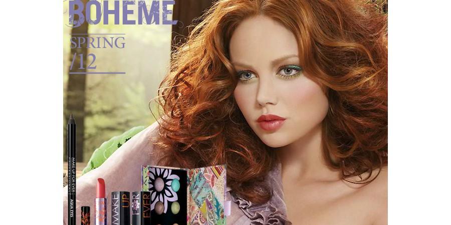 Make Up For Ever La Boheme Collection for Spring 2012