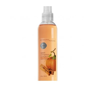 Bath & Body Works Sweet Cinnamon Pumpkin® Signature Collection CLASSICS Body Splash