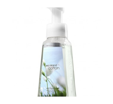 Bath & Body Works Sea Island Cotton® Anti-Bacterial Gentle Foaming Hand Soap