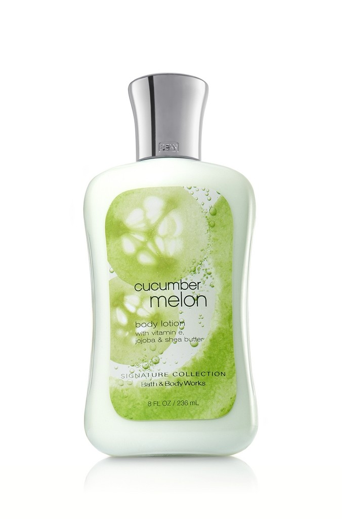 Bath body works cucumber melon signature collection for Where are bath and body works products made