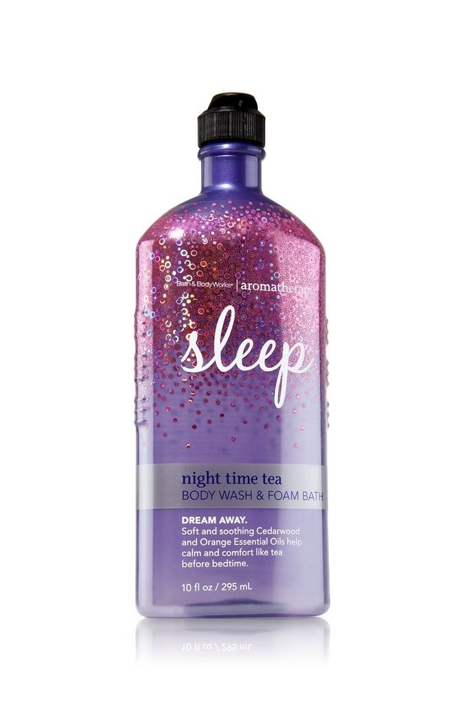 Bath Amp Body Works Sleep Night Time Tea Aromatherapy Body